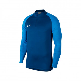 Sweat Nike Dry Strike Dril Top Coastal blue-Light photo blue-White