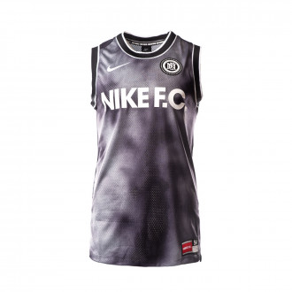 Camiseta Nike FC Top SL Black-Dark grey-White