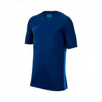 Maglia Nike Dry Academy Top SS Niño Coastal blue-Light photo blue