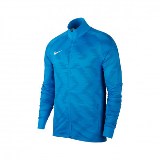 Chamarra Nike Dry Strike TRK Light photo blue-White