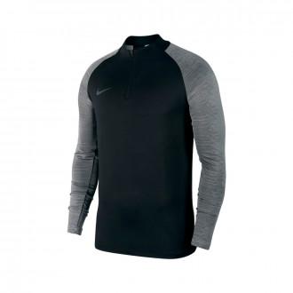 Maglia Nike Dry Strike Dril Top Black-Wolf grey-Anthracite