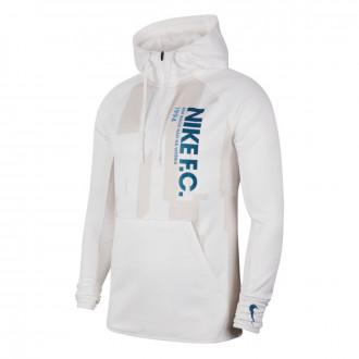 Jacket Nike Nike F.C. Hoodie White