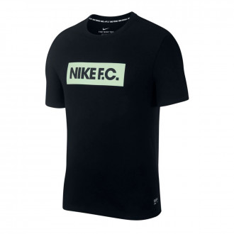 Camiseta Nike Dry Seasonal Block Black-Vapor green