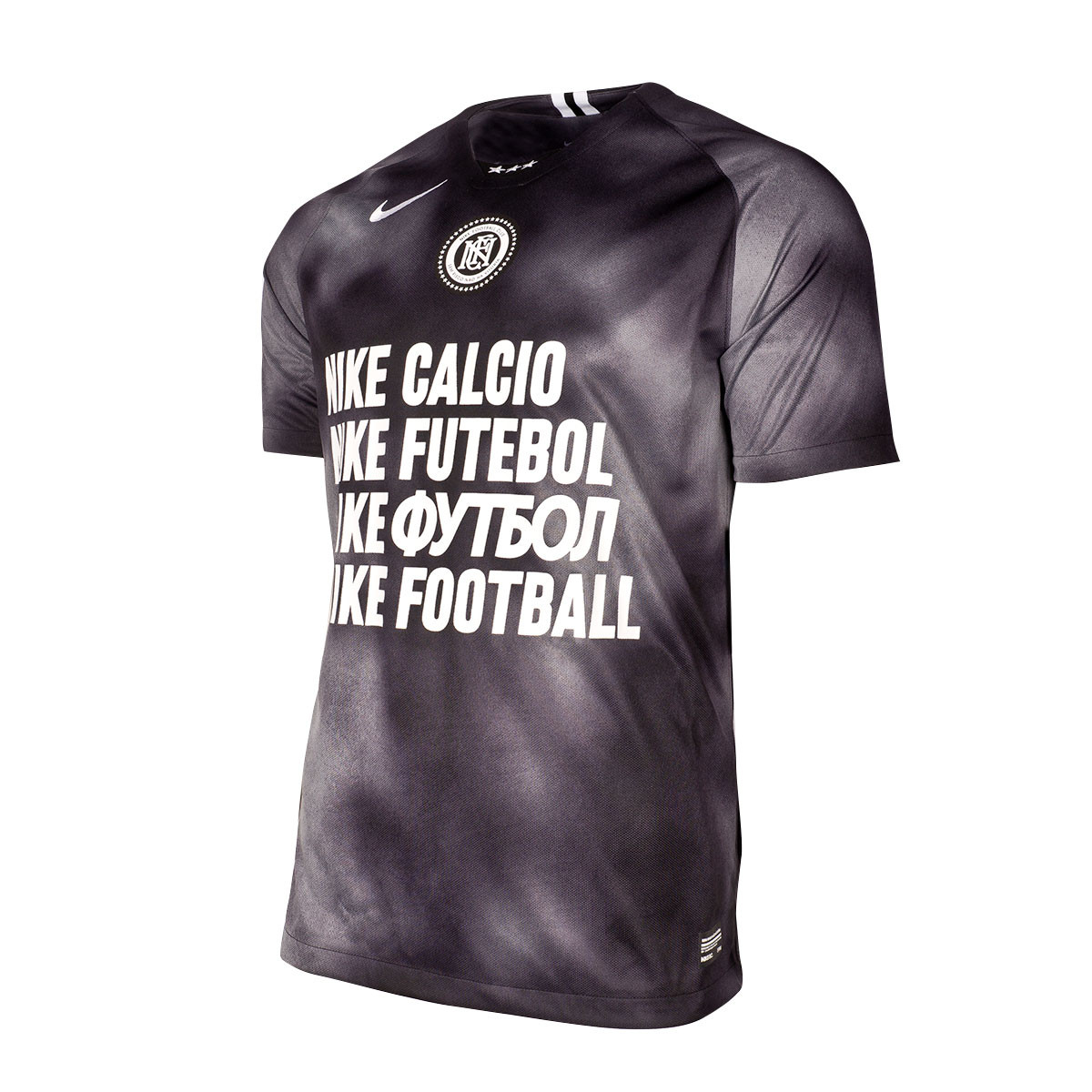 Dominante Contar brillo  Jersey Nike NIKE F.C. Black-Dark grey-White - Football store Fútbol Emotion