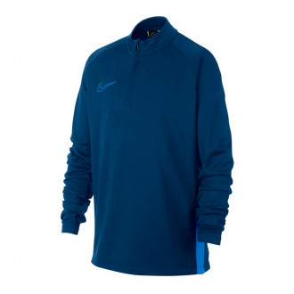 Sweat Nike Dry-FIT Academy Niño Coastal blue-Light photo blue