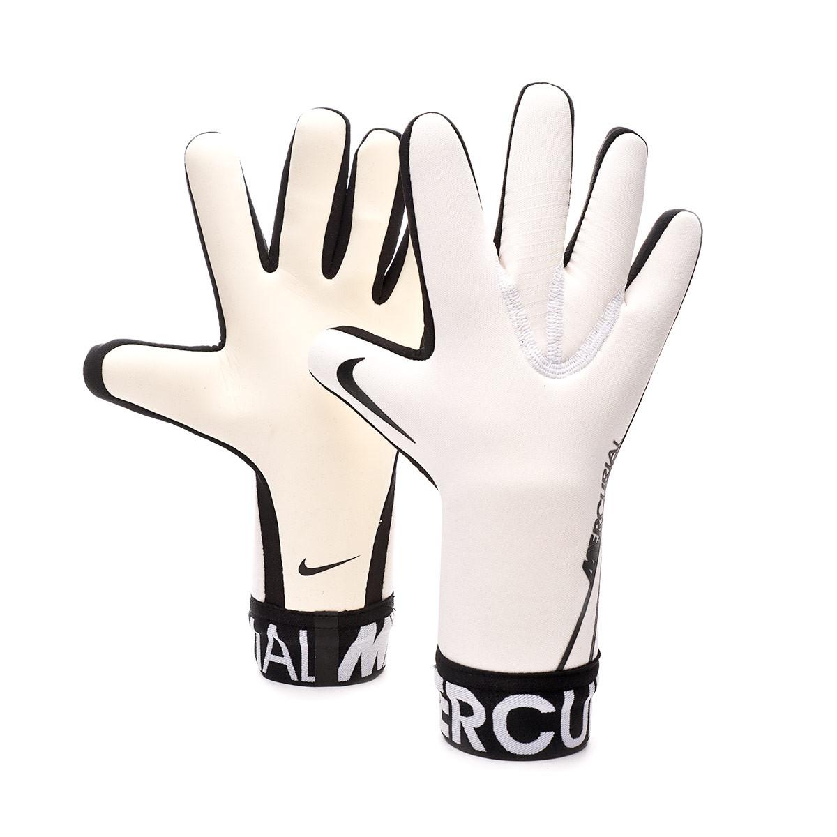 meteorito Representar Europa  Glove Nike Mercurial Touch Victory White-Black - Football store Fútbol  Emotion