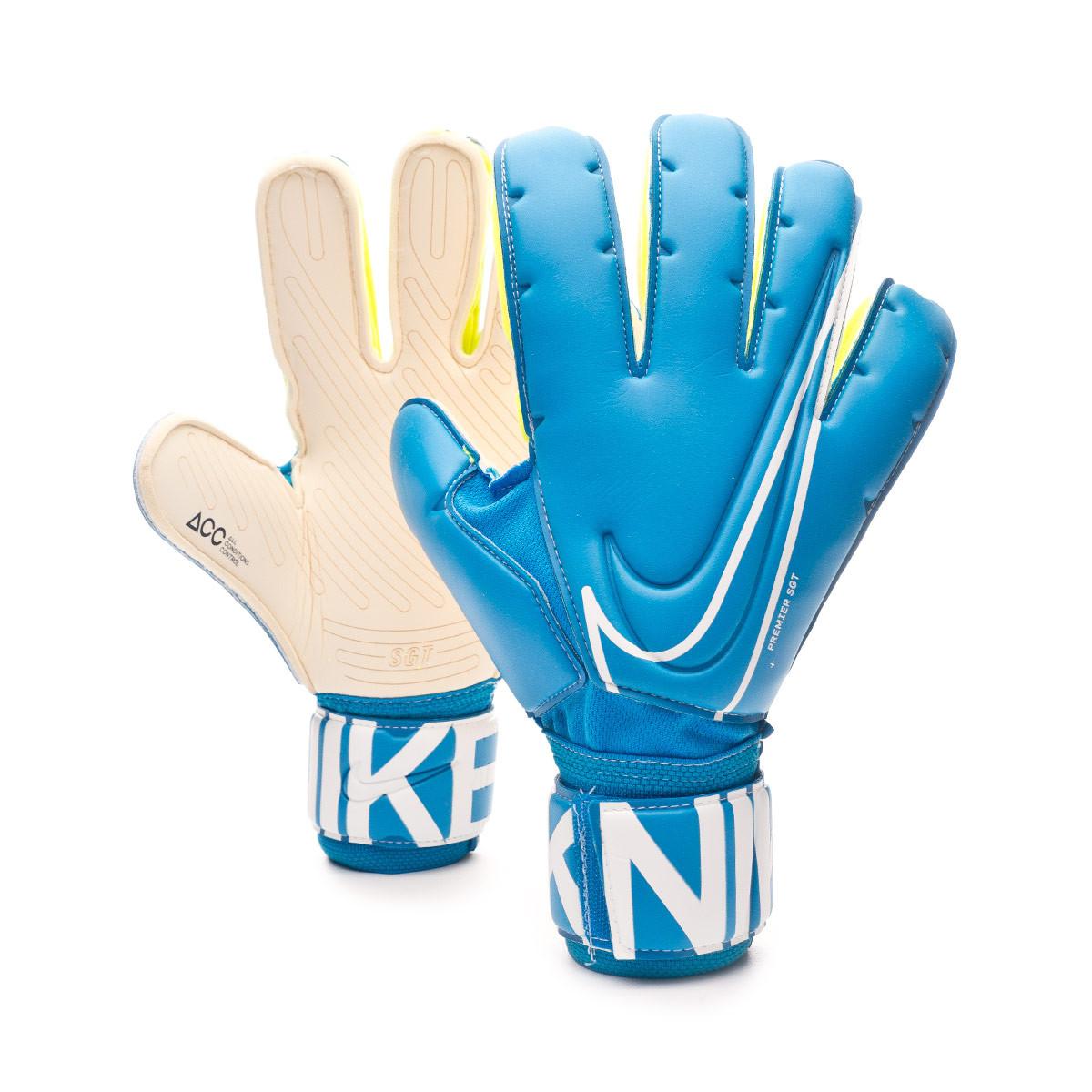 Tío o señor quemar Zapatos  Glove Nike Premier SGT Blue hero-White - Football store Fútbol Emotion