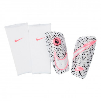 Shinpads Nike Premier League Mercurial Lite White-Black-Racer pink