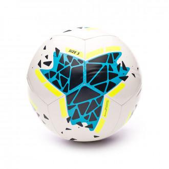 Balón Nike Pitch 2019-2020 White-Obsidian-Volt