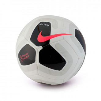 Ball Nike Premier League Pitch 2019-2020 White-Black-Cool grey-Racer pink