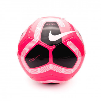 Ball Nike Premier League Pitch 2019-2020 Racer pink-Black-White-Metallic silver