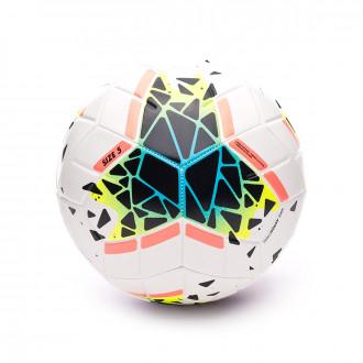 Bola de Futebol Nike Strike 2019-2020 White-Obsidian-Blue fury