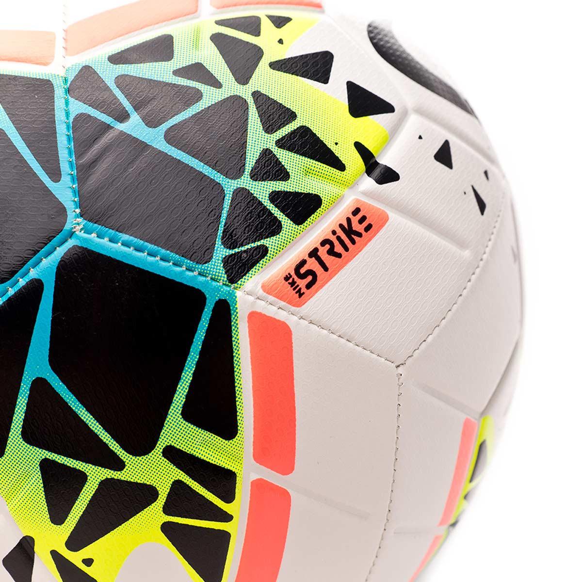Balon Nike Strike 2019 2020 White Obsidian Blue Fury Tienda De Futbol Futbol Emotion