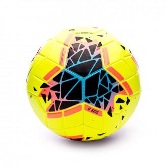 Balón Nike Strike 2019-2020 Volt-Obsidian-Bright mango-White