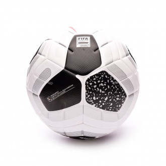 Balón Nike Premier League Strike Pro 2019-2020 White-Black-Racer pink-Metallic silver