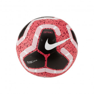 Ball Nike Premier League Strike 2019-2020 Racer pink-Black-White-Metallic silver