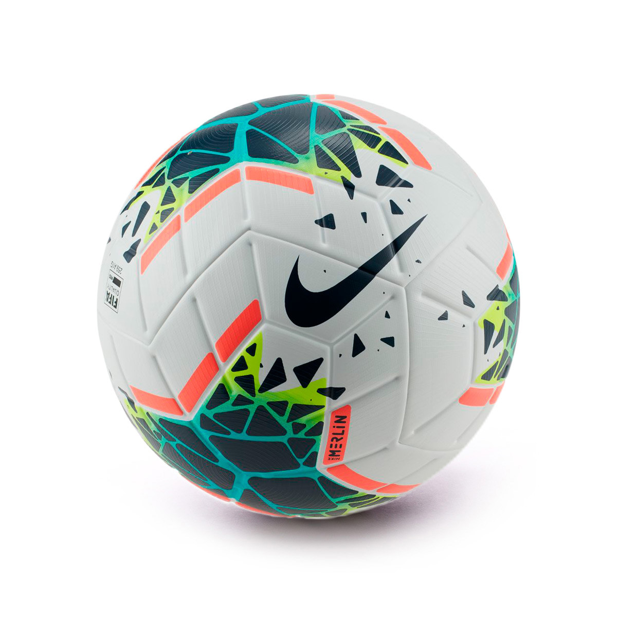 Balón Merlin 2019-2020 White-Obsidian-Blue fury