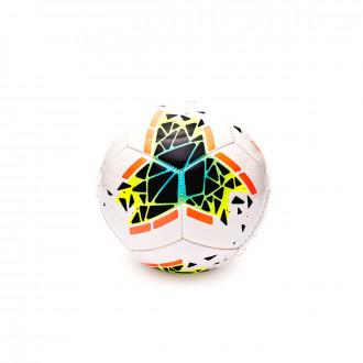 Balón Nike Mini 2019-2020 White-Obsidian-Bright mango-White