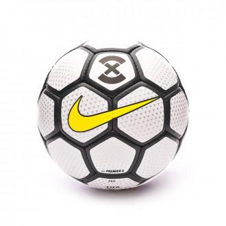 Balón Nike Premier X 2019-2020 White-Anthracite-Optical yellow