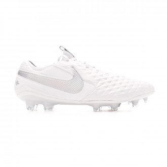 Football Boots  Nike Tiempo Legend VIII Elite FG White-Pure platinum-Wolf grey