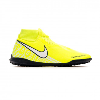 Chaussure de football Nike Phantom Vision Academy DF Turf Volt-White