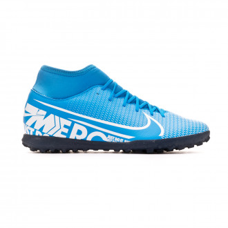 Zapatilla Nike Mercurial Superfly VII Club Turf Blue hero-White-Obsidian