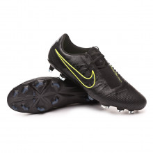 Chuteira Phantom Venom Elite FG Black-Volt