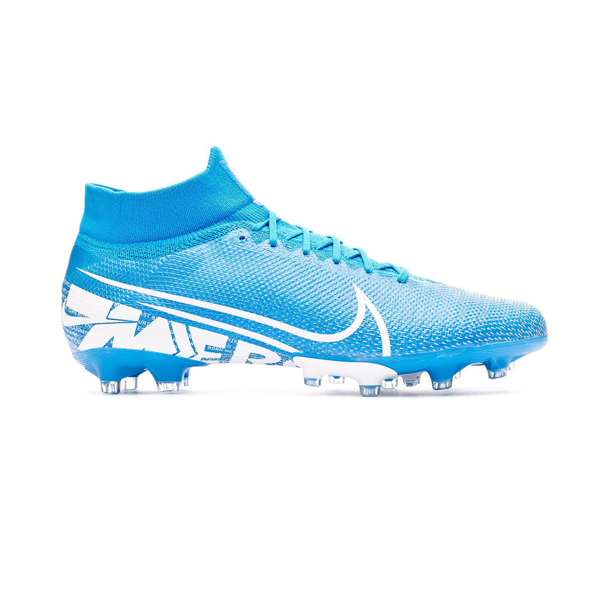 Folleto tirar a la basura Organizar  Football Boots Nike Mercurial Superfly VII Pro AG-Pro Blue  hero-White-Obsidian - Football store Fútbol Emotion