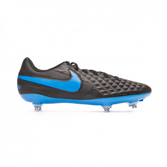Chuteira Nike Tiempo Legend VIII Club SG Black-Blue hero