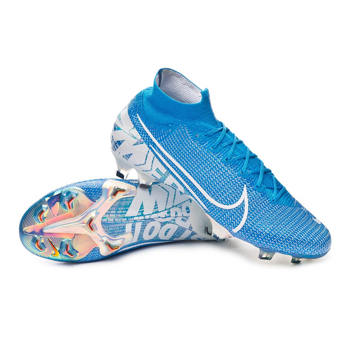 Mejorar Glosario Estimar  Zapatos de fútbol Nike Mercurial Superfly VII Elite FG Blue  hero-White-Volt-Obsidian - Tienda de fútbol Fútbol Emotion