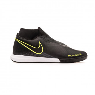 Chaussure de futsal Nike Phantom Vsion Academy DF IC Black-Volt