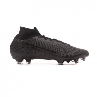 Football Boots Nike Mercurial Superfly VII Elite FG Black-Dark grey