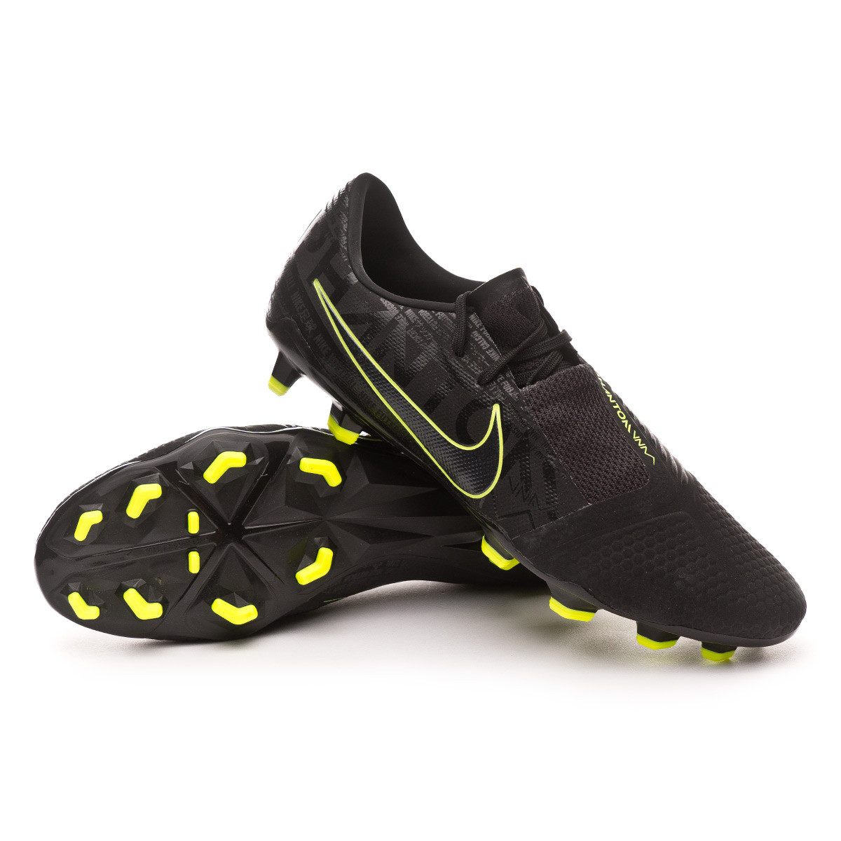 official photos cb437 dd67b Bota Phantom Venom Pro FG Black-Volt