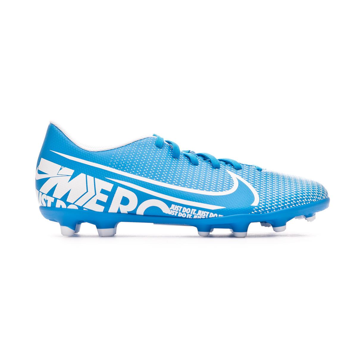 Buscar ensayo lo mismo  Football Boots Nike Mercurial Vapor XIII Club FG/MG Blue  hero-White-Obsidian - Football store Fútbol Emotion