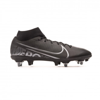 Scarpe  Nike Mercurial Superfly VII Academy ACC SG-Pro Black-Metallic cool grey