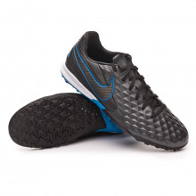Football Boot Tiempo Legend VIII Pro Turf Black-Blue hero