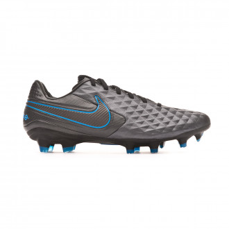 Bota Nike Tiempo Legend VIII Pro FG Black-Blue hero