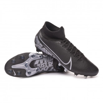 Mercurial Superfly VII Pro AG-Pro Black-Metallic cool grey