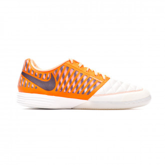 Zapatilla Nike Lunar Gato II Sail-Mahogany-Hyper crimson-Orange pulse