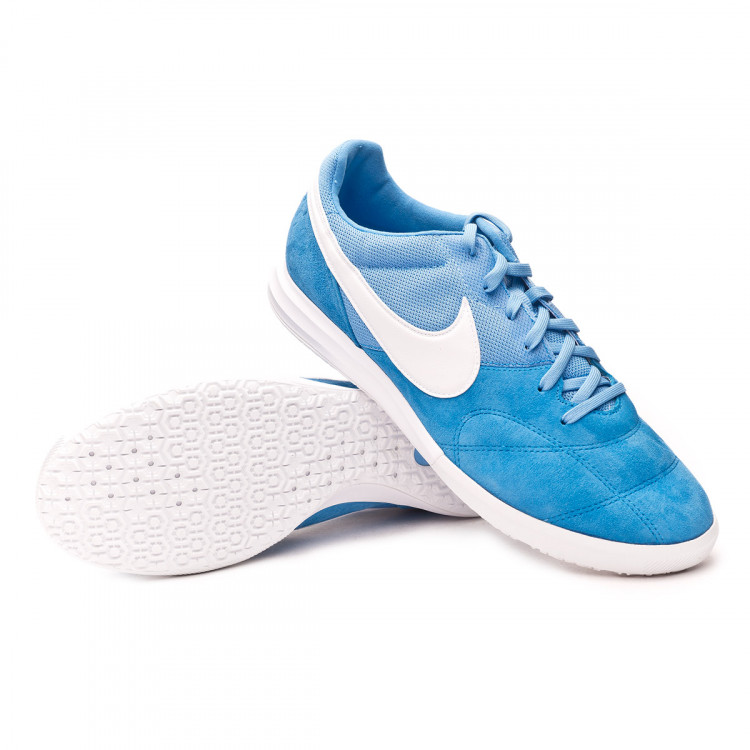 Prosperar Moderador Golpe fuerte  Futsal Boot Nike Tiempo Premier II Sala IC Photo blue-White-University blue  - Football store Fútbol Emotion