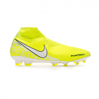 Football Boots Nike Phantom Vision Elite DF FG Volt-White-Barely volt