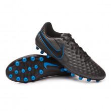 Football Boots Tiempo Legend VIII Academy AG Black-Blue hero