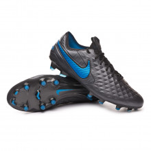 Chuteira Tiempo Legend VIII Elite FG Black-Blue hero