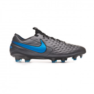 Football Boots  Nike Tiempo Legend VIII Elite FG Black-Blue hero