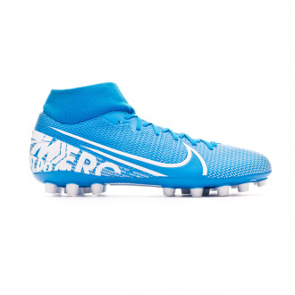 Football Boots Nike Mercurial Superfly VII Academy AG Blue hero-White-Obsidian