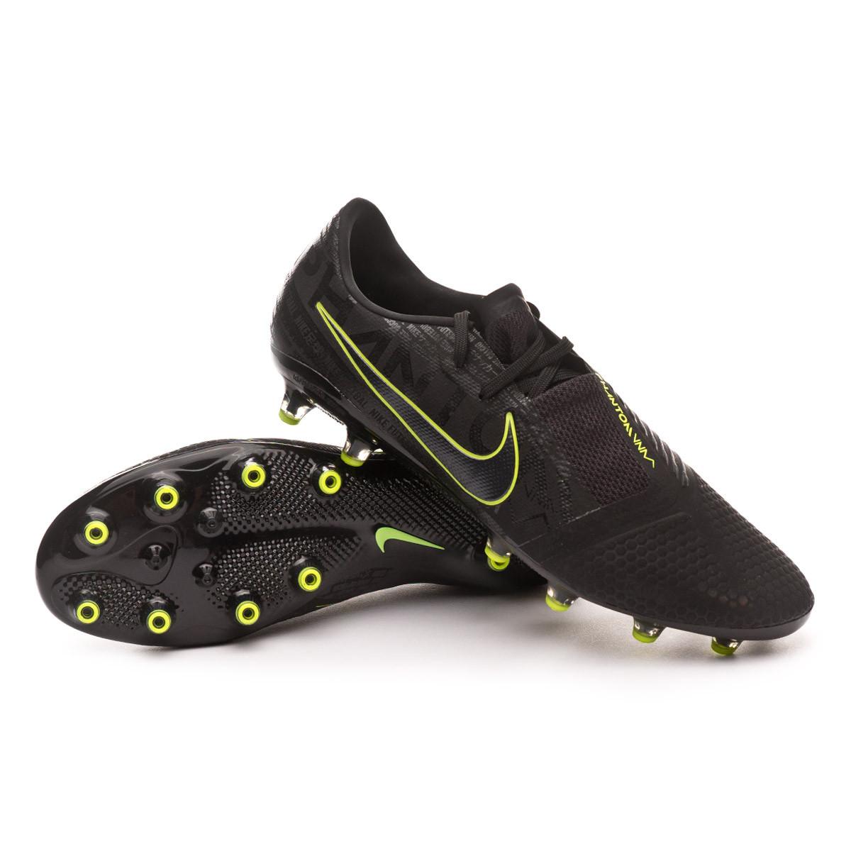 Portal incluir Eslovenia  Football Boots Nike Phantom Venom Pro AG-Pro Black-Volt - Football store  Fútbol Emotion