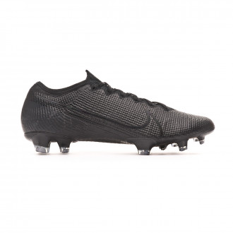 Football Boots  Nike Mercurial Vapor XIII Elite FG Black-Matte silver-Metallic cool grey