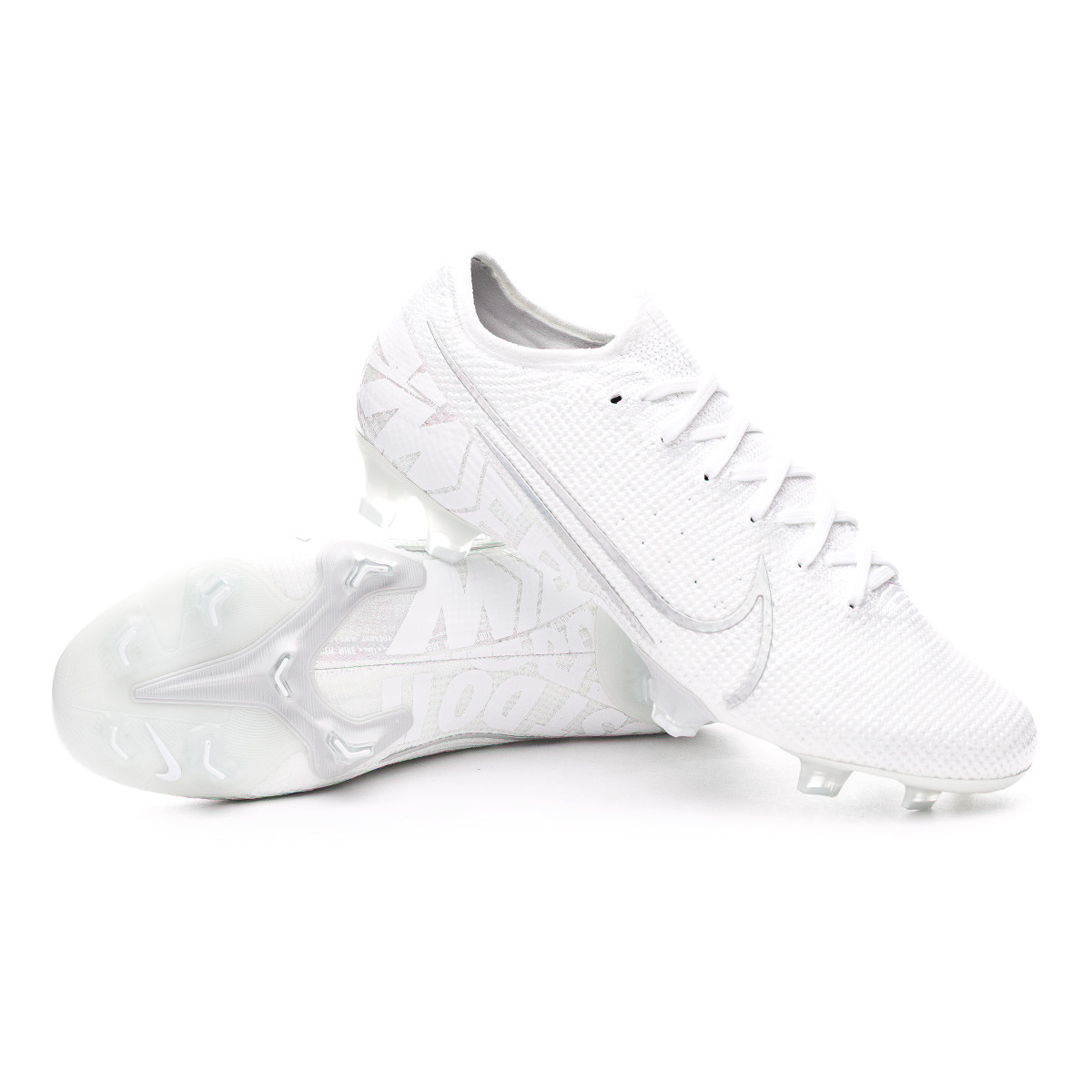 Residenza sicurezza media  Football Boots Nike Mercurial Vapor XIII Elite FG White-Chrome-Metallic  silver - Football store Fútbol Emotion