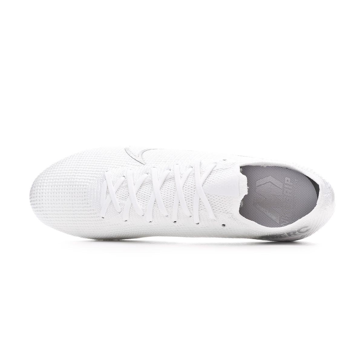 Nike Mercurial Vapor 13 Elite FG Nuovo WhiteChromeMetallic Silver