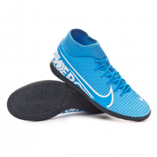 Zapatilla Mercurial Superfly VII Club IC Blue hero-White-Obsidian